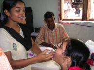 OCV Administration in Kolkata, India by the IVI-NICED Cholera Team (2006)