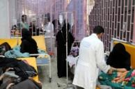 Doctors treat patients with cholera in Yemen, Photo Courtesy of Harvard Humanitarian Initiative's Advanced Training Program on Humanitarian Action